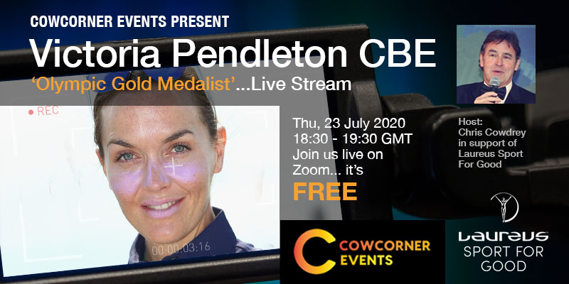 CowCorner Virtual Events Victoria Pendleton CBE